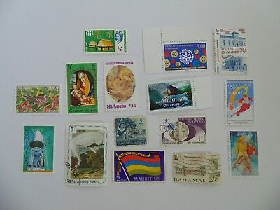 L1889 - Collection Of Mixed Caribbean & Other Isles Stamps