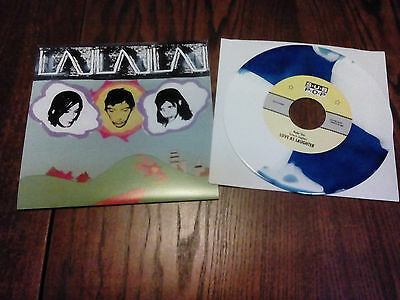 """Love As Laughter - Nude 'has - 7"""" USA Blue/White Wax - Sub Pop Single Club"""
