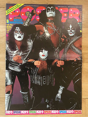 KISS SPECIAL #1  - SWEDEN SWEDISH POSTER MAGAZINE 1970s #9-1977