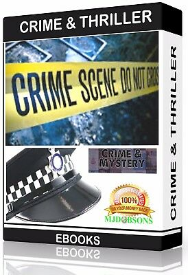 Crime & Thriller e-Book Collection Kindle-eReader-Nook-Kobo