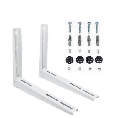 Wall Mounting Bracket for Mini Split Air Conditioners - 2 Piece  - Up to 180 Lbs