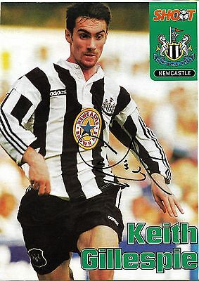 Newcastle - Keith Gillespie Signed