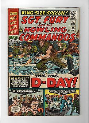Sgt. Fury Annual #2 (Jun 1966, Marvel) - Very Fine