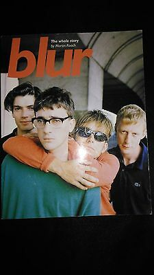 Blur The Whole Story By Martin Roach Rare Large Paperback Book (1996)