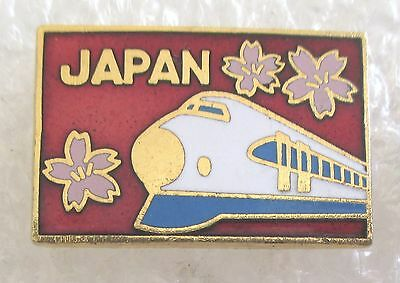 Japan Travel Souvenir Collector Pin-High Speed Bullet Train
