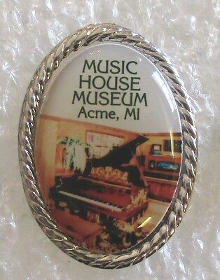 Music House Museum - Acme, Michigan Tourist Souvenir Collector Pin