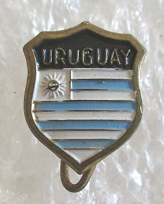Vintage Uruguay Travel Souvenir Collector Pin
