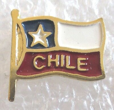 Flag of Chile Travel Souvenir Collector Pin
