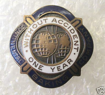 Vintage Continental Baking Company - Hostess - No Accident Award Pin