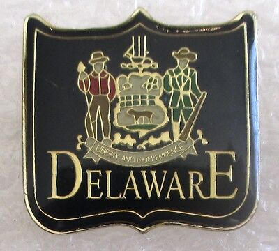 State of Delaware Travel Souvenir Collector Pin