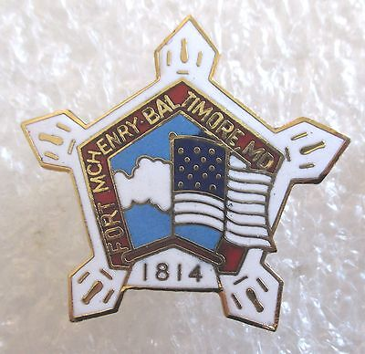 Fort McHenry, Baltimore, Maryland Travel Souvenir Collector Pin