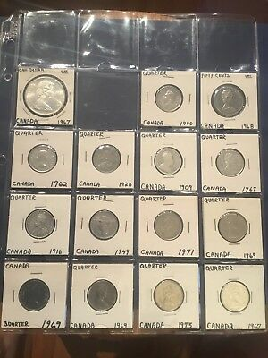 Canadian Coin Collection Set Some Silver
