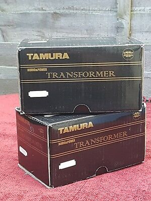 HIGH END TAMURA F-5002 Amorphous Core Single End Output Transformers AUDIOPHILE