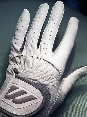 Mizuno Durafit All Weather White Ladies Medium Golf Glove - BEST VALUE on eBay!