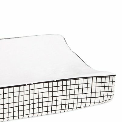 Tuxedo Contour Changing Pad Cover by Babyletto, Tuxedo