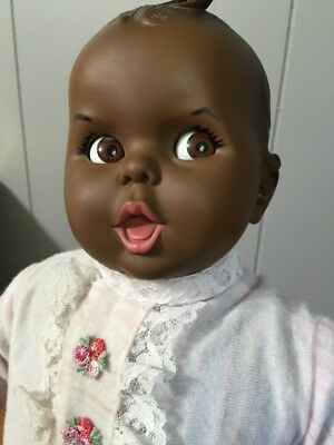 "Gerber Baby Doll~19""~Flirty Eyes~1970~Nice Condition"