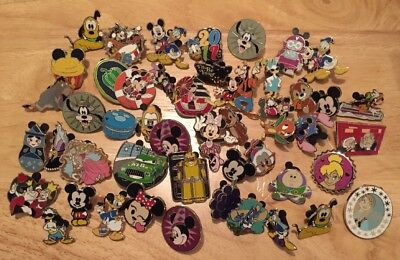 10 Disney Pins-Lot Of 10 100% Guaranteed Authentic Disney Pins-ONLY $1.50 EACH!!