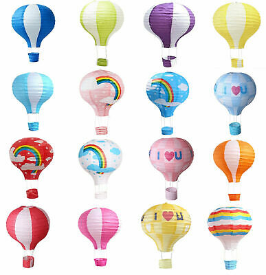 "8""10""12""14""16"" Hot Air Paper Lantern Decoration Lampshade Wedding Party Balloon"
