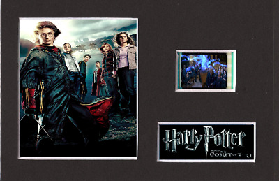 Harry Potter And The Goblet Of Fire 35mm Mounted Film Cell Display 6 x 4