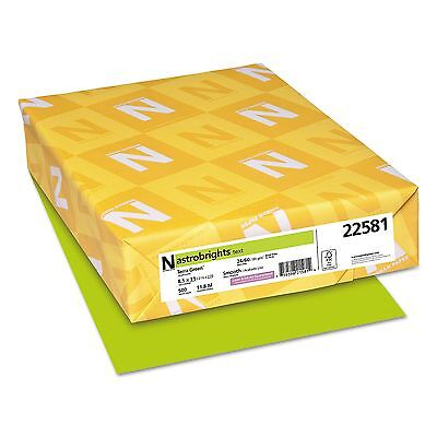 ASTROBRIGHTS 22581 COLOR 24 Lb Copy PAPER Terra GREEN LETTER Size REAM