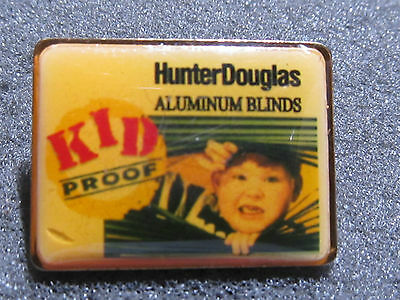 home depot collectibles HD vendor hunter douglas lapel pin
