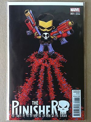 Punisher (2016) #1 Skottie Young Variant Cover Cloonan Dillon Nm 1St Printing