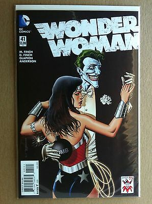 "WONDER WOMAN (2011) #41 BRIAN BOLLAND ""JOKER 75th"" VARIANT COVER NM 1ST PRINTING"