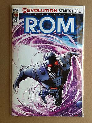ROM (2016) #4 RI 1:10 INCENTIVE VARIANT COVER by POP MHAN NM 1ST PRINTING IDW