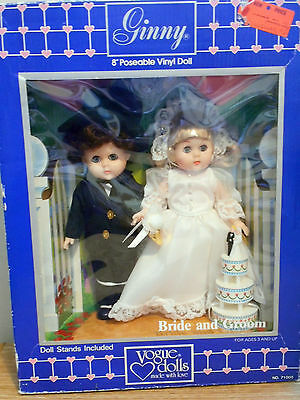 GINNY (Vogue) by Meritus 1985 **BRIDE AND GROOM**  # 71005 Never played with