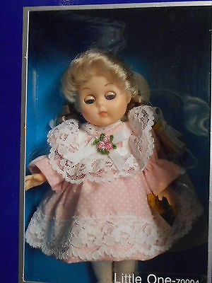 "Vogue Ginny Doll - LITTLE ONE 1984c 8"" Poseable Vinyl NRFB"