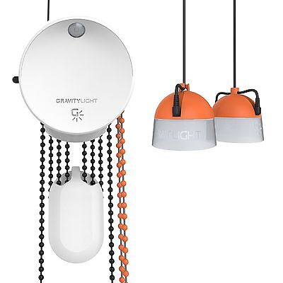 GravityLight GL02 Off Grid Light uses Gravity - No Electricity or Sun Required
