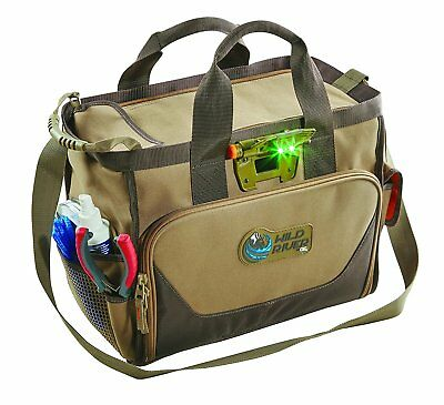 Wild River Tackle Tek Lighted Closed Top Fresh Salt Water Fishing & Ammo Bag 6B7