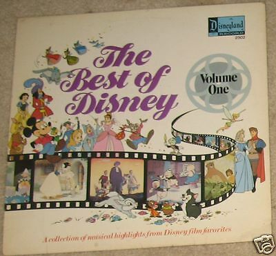 """The Best Of Disney Volume One 12"""" Vinyl Record COVER ONLY"""
