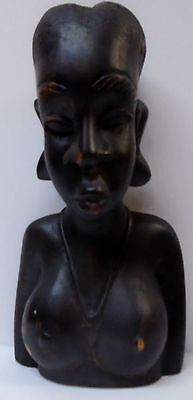 Wood Carving Of A Nude African Woman Iron Wood