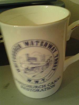Whitchurch Waterway Trust Mug Cup.Canal Restoration.
