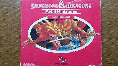 vintage dungeons and dragons miniatures