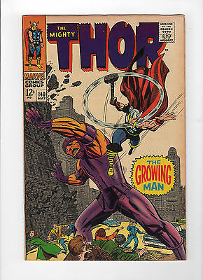 Thor #140 (May 1967, Marvel) - Very Fine