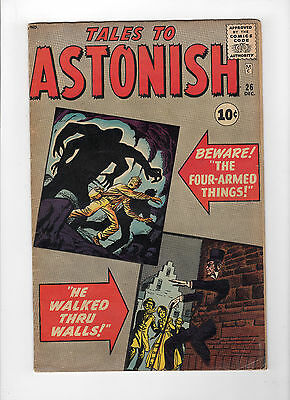 Tales to Astonish #26 (Dec 1961, Marvel) - Very Good