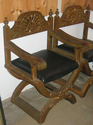 2 antique chinese/japanese chair (2 lot)