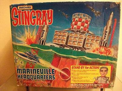 Stingray Marineville, Figures And Craft ( Boxed )