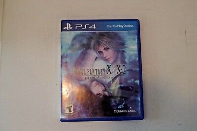Final Fantasy X/X-2 HD Remaster (Sony PlayStation 4, 2015) TESTED VERY GOOD COND