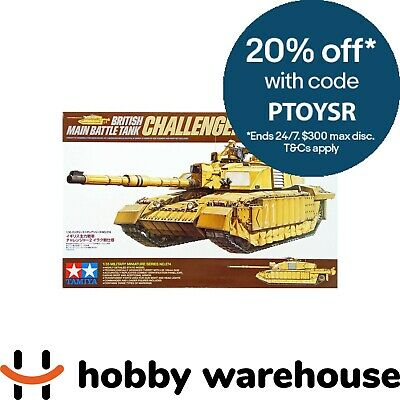 Tamiya 35274 1/35 British Main Battle Tank Challenger 2 (Desertised) Model Kit