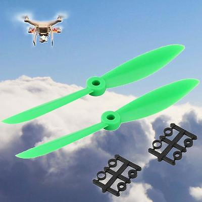 6x4.5 6045 6045R Propellers ABS Props Ring CCW/CW for QAV250 Multirotor Green Sk