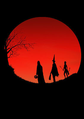 Halloween 3 Season of the Witch Poster A3 A4 - Horror Movie Posters - Art Print