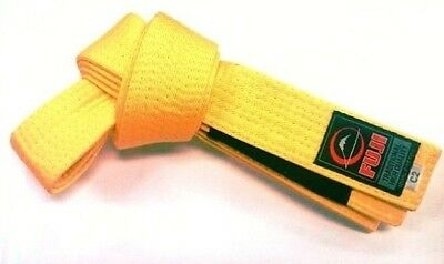 Fuji Kids Jiu-Jitsu Yellow Belt - A1