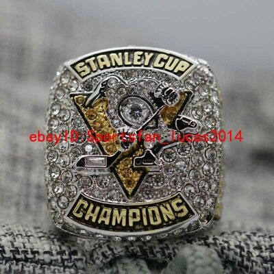 On Sale Official 2017 Pittsburgh Penguins Stanley Cup Championship Ring 8-14Size