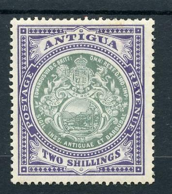 Antigua 1908-17 2s grey-green and violet SG50  MM - see desc