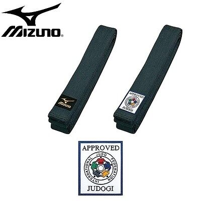 Mizuno IJF Approved Black Belt - Size 6