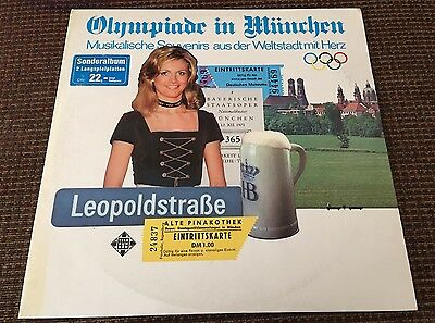OLYMPIADE IN MUNCHEN LP Munich Olympic Games