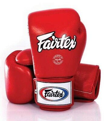Fairtex Training Gloves - Red - BGV1 - 10 oz